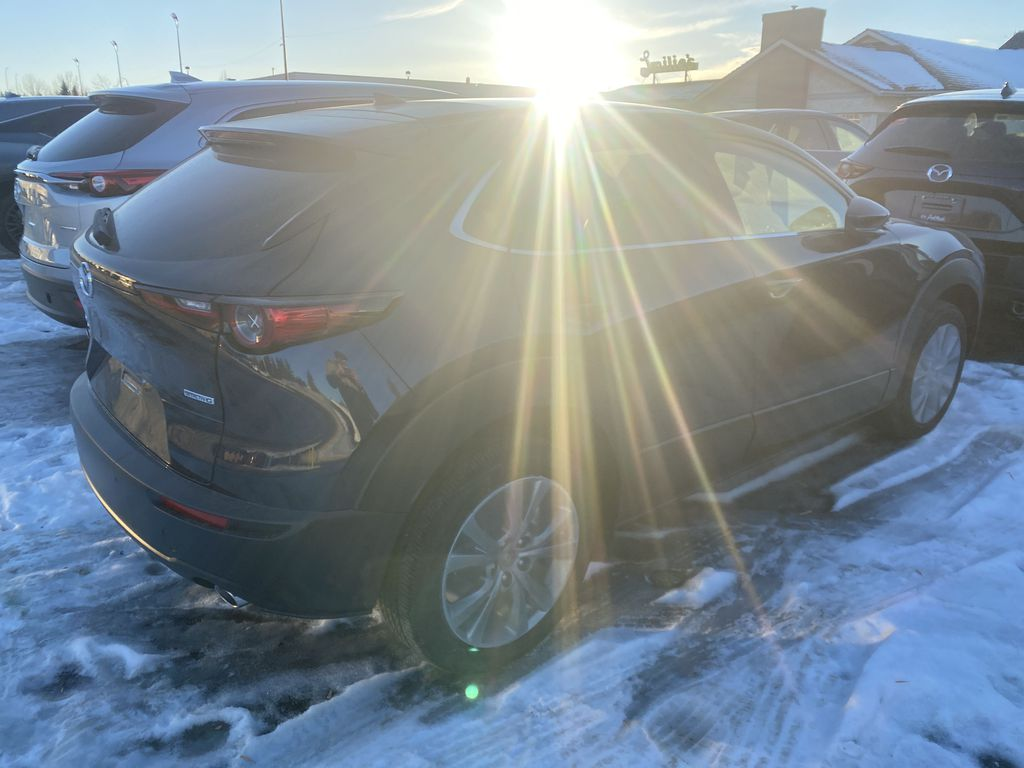 DEEP CRYSTAL BLUE MICA(42M) 2021 Mazda CX-30 GT AWD  Driver's Side Door Controls Photo in Edmonton AB
