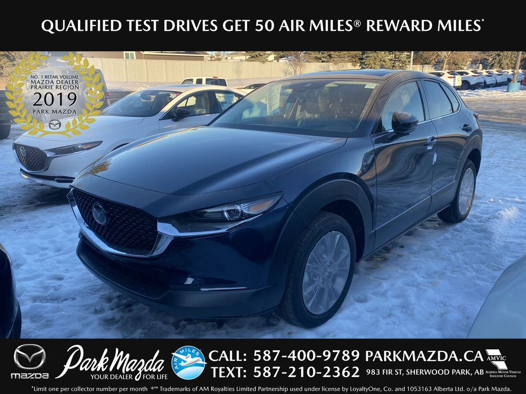 DEEP CRYSTAL BLUE MICA(42M) 2021 Mazda CX-30