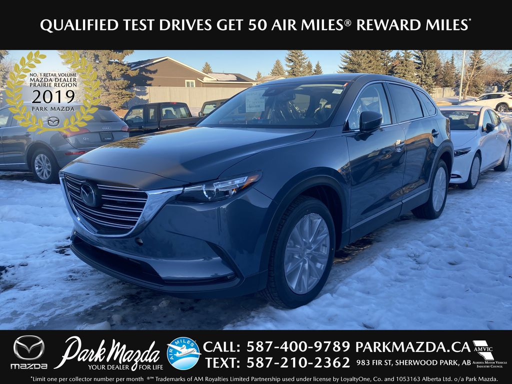 POLYMETAL GREY METALLIC(47C) 2021 Mazda CX-9