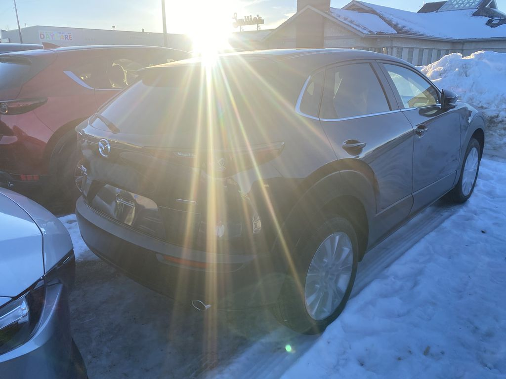 DEEP CRYSTAL BLUE MICA(42M) 2021 Mazda CX-30 GS AWD  Driver's Side Door Controls Photo in Edmonton AB