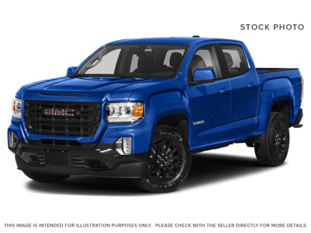 Blue[Dynamic Blue Metallic] 2021 GMC Canyon