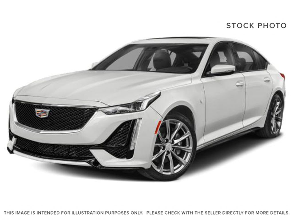 White[Crystal White Tricoat] 2021 Cadillac CT5 Sport
