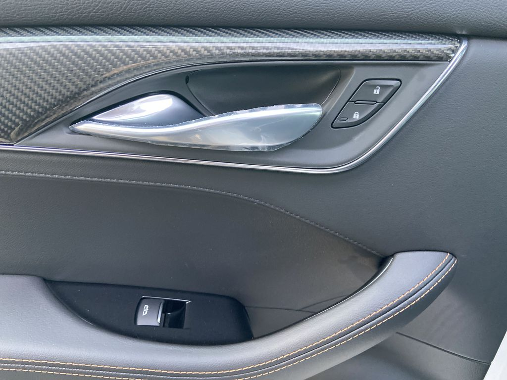 White[Crystal White Tricoat] 2021 Cadillac CT5 Sport LR Door Panel Ctls Photo in Calgary AB