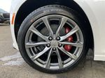 White[Crystal White Tricoat] 2021 Cadillac CT5 Sport Left Front Rim and Tire Photo in Calgary AB