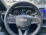 White[Crystal White Tricoat] 2021 Cadillac CT5 Sport Steering Wheel and Dash Photo in Calgary AB