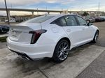 White[Crystal White Tricoat] 2021 Cadillac CT5 Sport Right Rear Corner Photo in Calgary AB