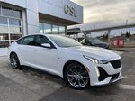 White[Crystal White Tricoat] 2021 Cadillac CT5 Sport Primary Listing Photo in Calgary AB