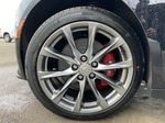 Black[Black Raven] 2021 Cadillac CT5 Sport Left Front Rim and Tire Photo in Calgary AB