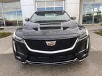 Black[Black Raven] 2021 Cadillac CT5 Sport Front Vehicle Photo in Calgary AB
