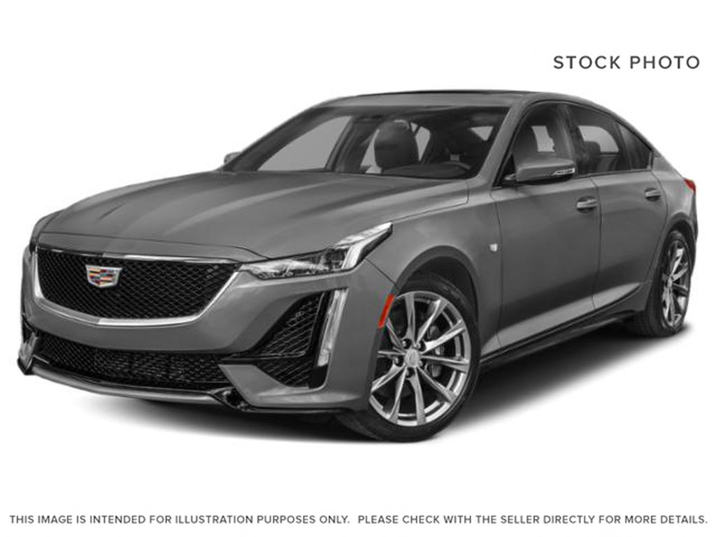 Gray[Satin Steel Metallic] 2021 Cadillac CT5 Sport
