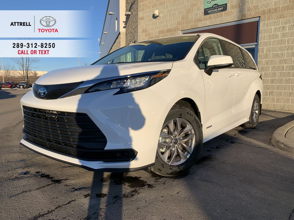 White[Blizzard Pearl] 2021 Toyota Sienna FWD LE Package GREK1C AL