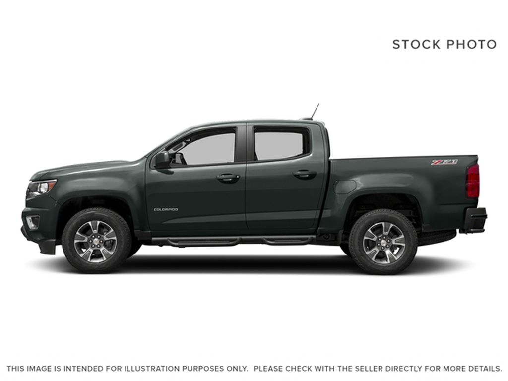 Gray[Cyber Grey Metallic] 2017 Chevrolet Colorado Left Side Photo in Fort Macleod AB