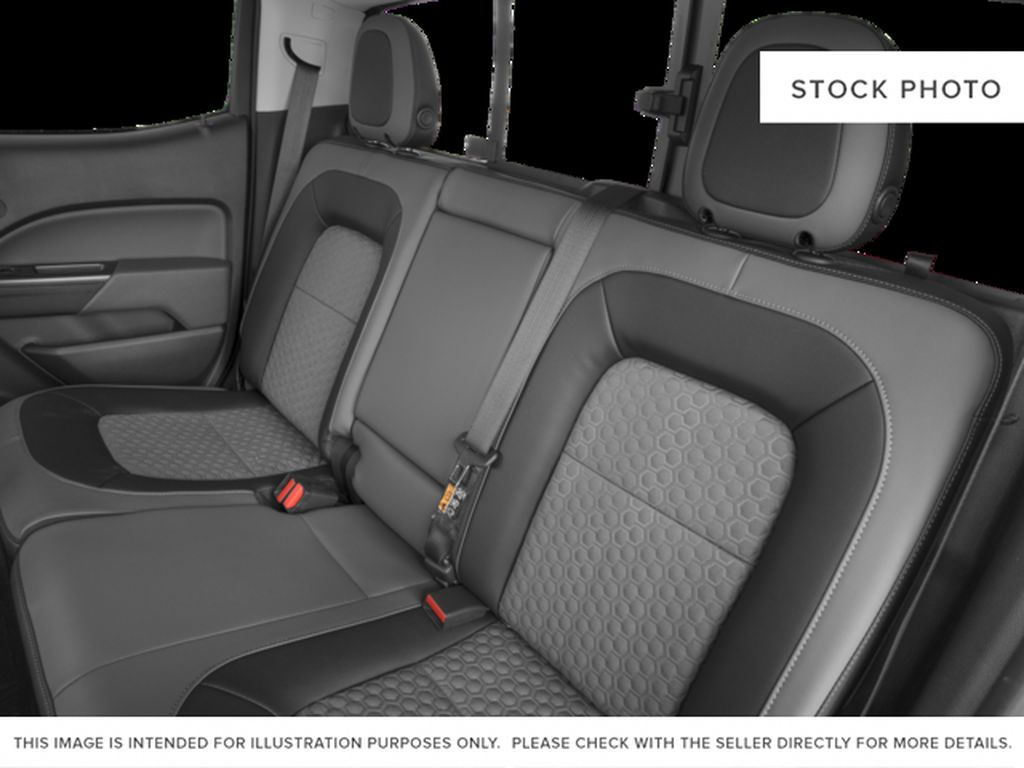 Gray[Cyber Grey Metallic] 2017 Chevrolet Colorado Left Side Rear Seat  Photo in Fort Macleod AB