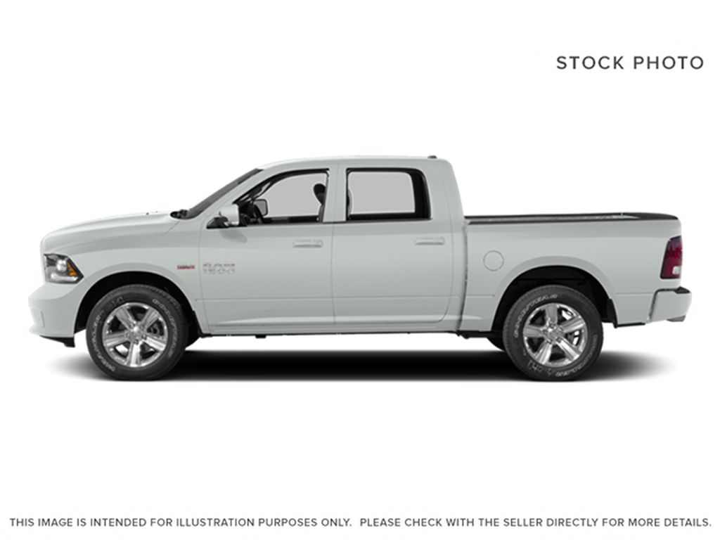 White[Bright White Clearcoat] 2014 Ram 1500 Left Side Photo in Fort Macleod AB