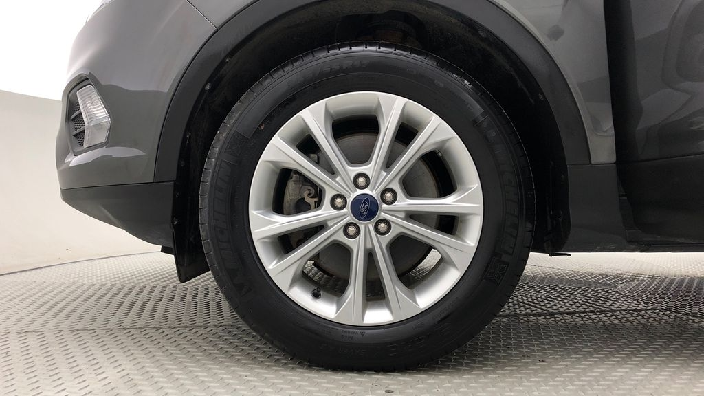 Gray[Magnetic] 2017 Ford Escape SE 4WD - Backup Camera, Power Liftgate, Bluetooth Left Front Rim and Tire Photo in Winnipeg MB