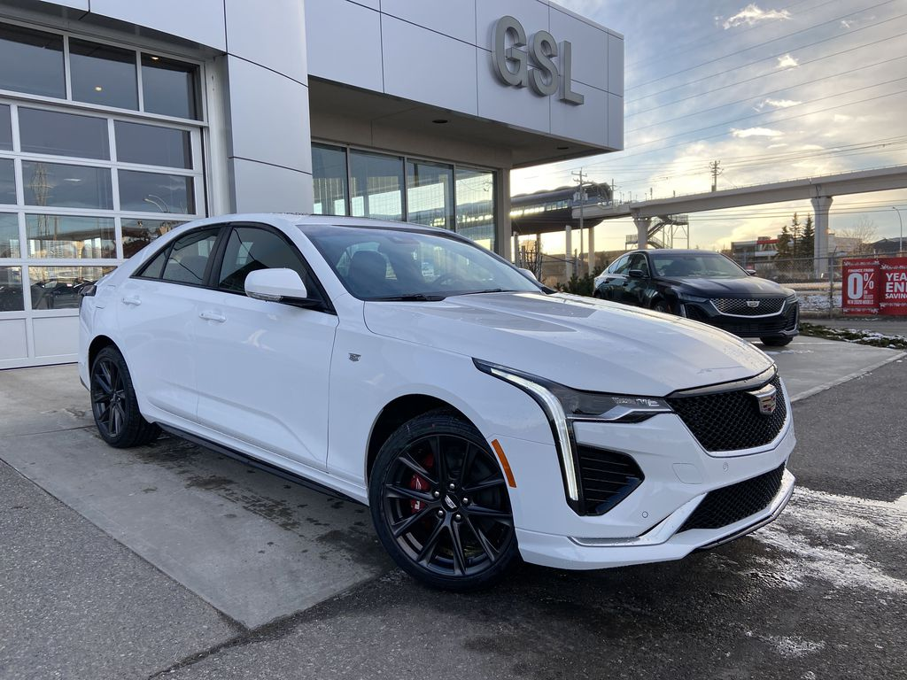 White[Summit White] 2021 Cadillac CT4 Sport