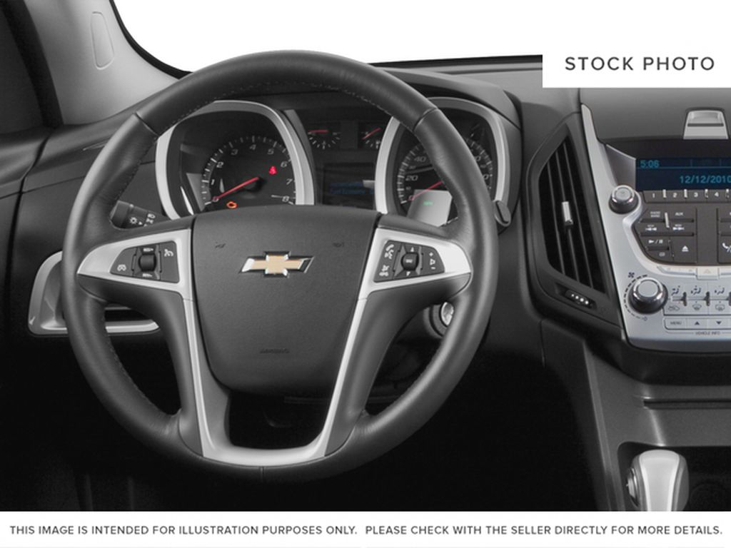 2015 Chevrolet Equinox Steering Wheel and Dash Photo in Barrhead AB