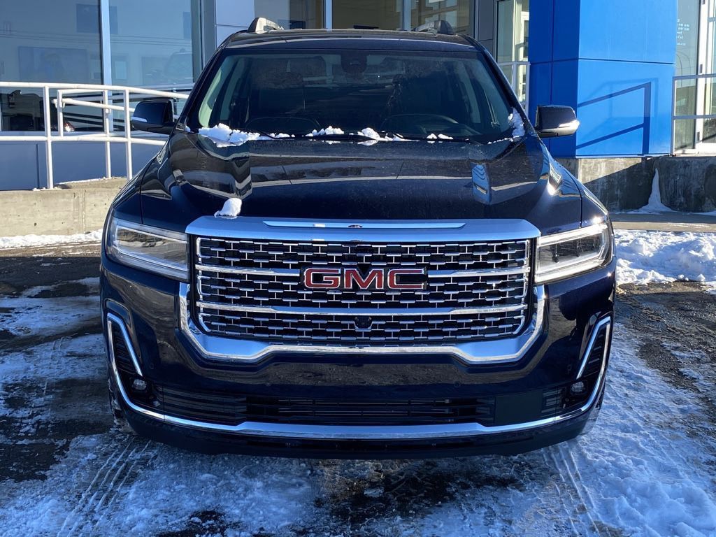 Blue 2021 GMC Acadia Front Vehicle Photo in Barrhead AB