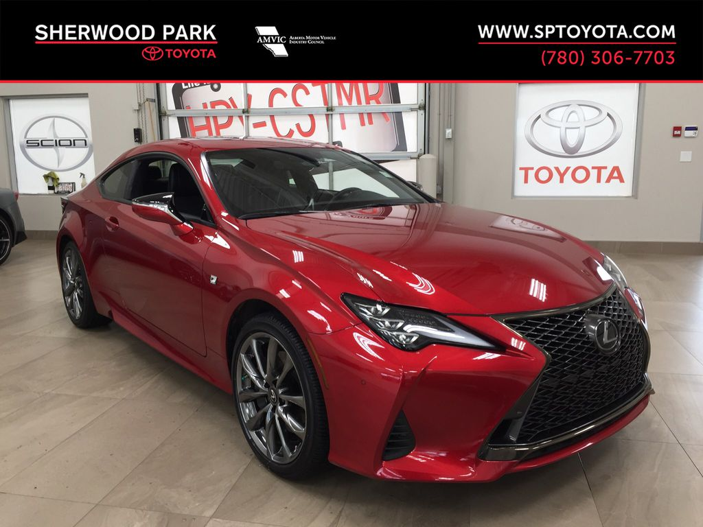 Red[Infrared] 2019 Lexus RC 350 AWD F Sport