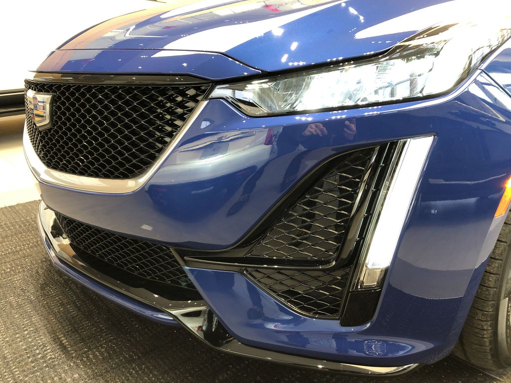 Blue[Wave Metallic] 2021 Cadillac CT5 Left Front Head Light / Bumper and Grill in Edmonton AB