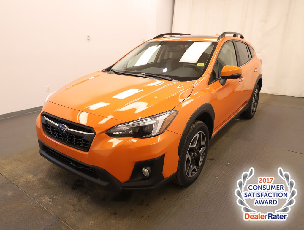 Orange 2019 Subaru Crosstrek