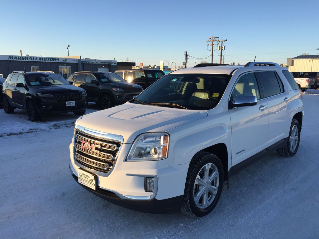White[Summit White] 2016 GMC Terrain AWD 4dr SLT *Heated Seats* *Bluetooth* *Backup Cam*