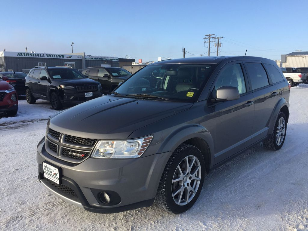 Gray[Storm Grey Pearl] 2012 Dodge Journey AWD 4dr R/T *Heated Seats* *NAV* *LOW KMS*