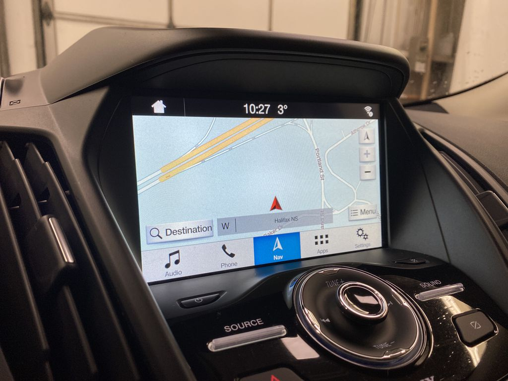 2019 Ford Escape Navigation Screen Closeup Photo in Dartmouth NS