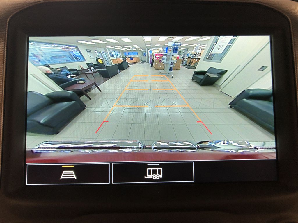 Red[Cayenne Red Tintcoat] 2021 GMC Sierra 1500 Backup Camera Closeup Photo in Edmonton AB