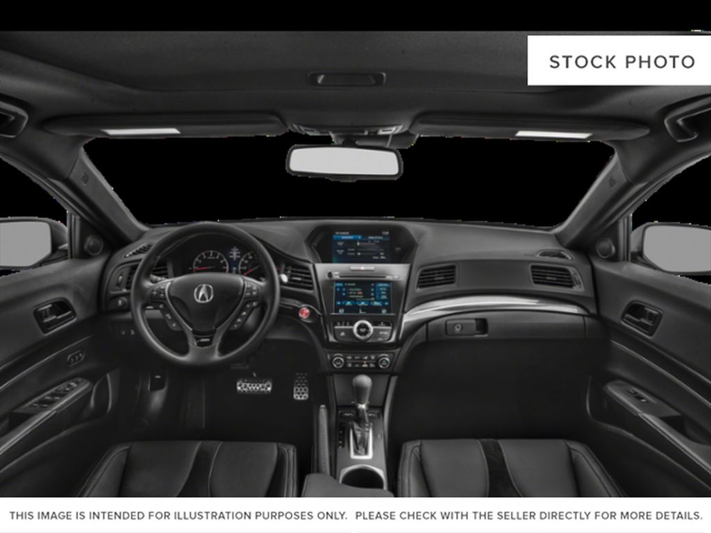 WHITE/ NH-883P 2021 Acura ILX Front Seats and Dash Photo in Kelowna BC