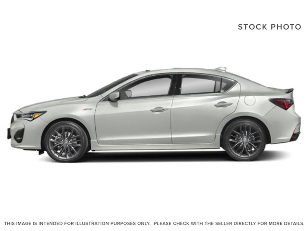 WHITE/ NH-883P 2021 Acura ILX Left Side Photo in Kelowna BC
