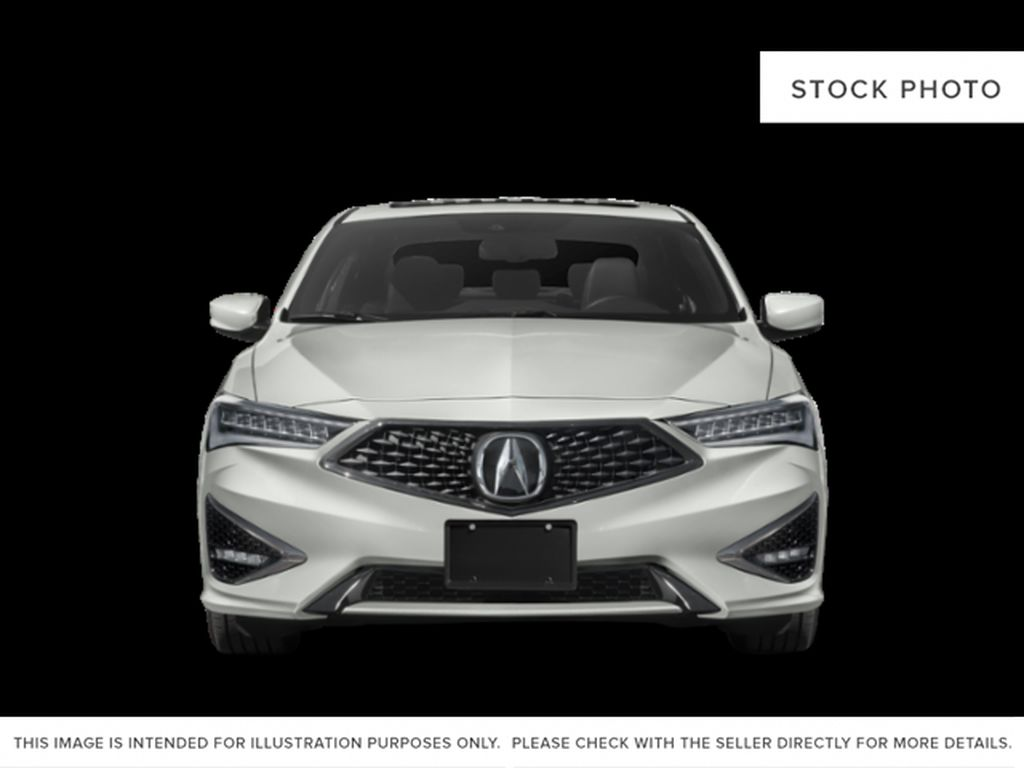 WHITE/ NH-883P 2021 Acura ILX Front Vehicle Photo in Kelowna BC