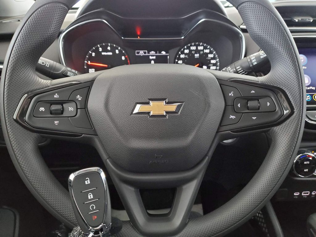 Red 2021 Chevrolet Trailblazer Front Vehicle Photo in Airdrie AB