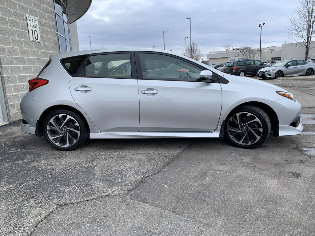 Silver 2017 Toyota Corolla iM Front Vehicle Photo in Brampton ON