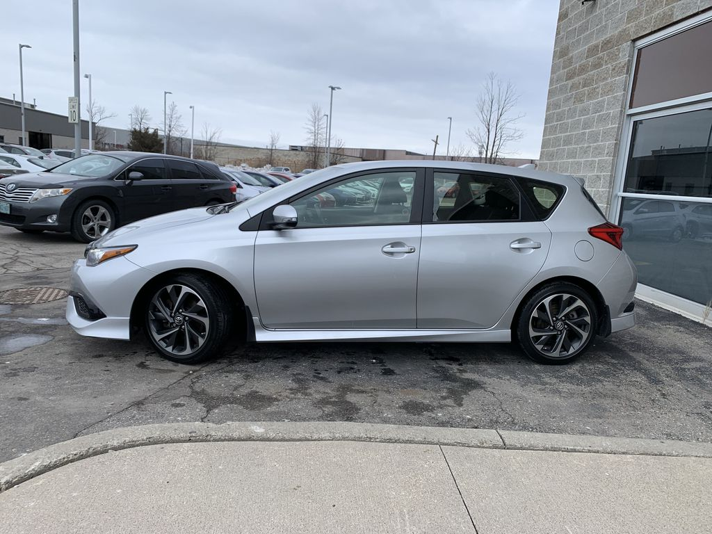 Silver 2017 Toyota Corolla iM Left Front Rim and Tire Photo in Brampton ON