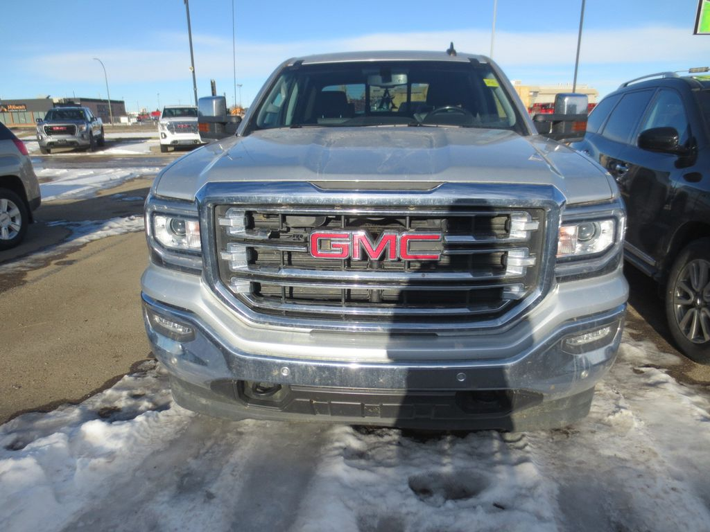 Silver 2018 GMC Sierra 1500 Left Front Rim and Tire Photo in Lethbridge AB