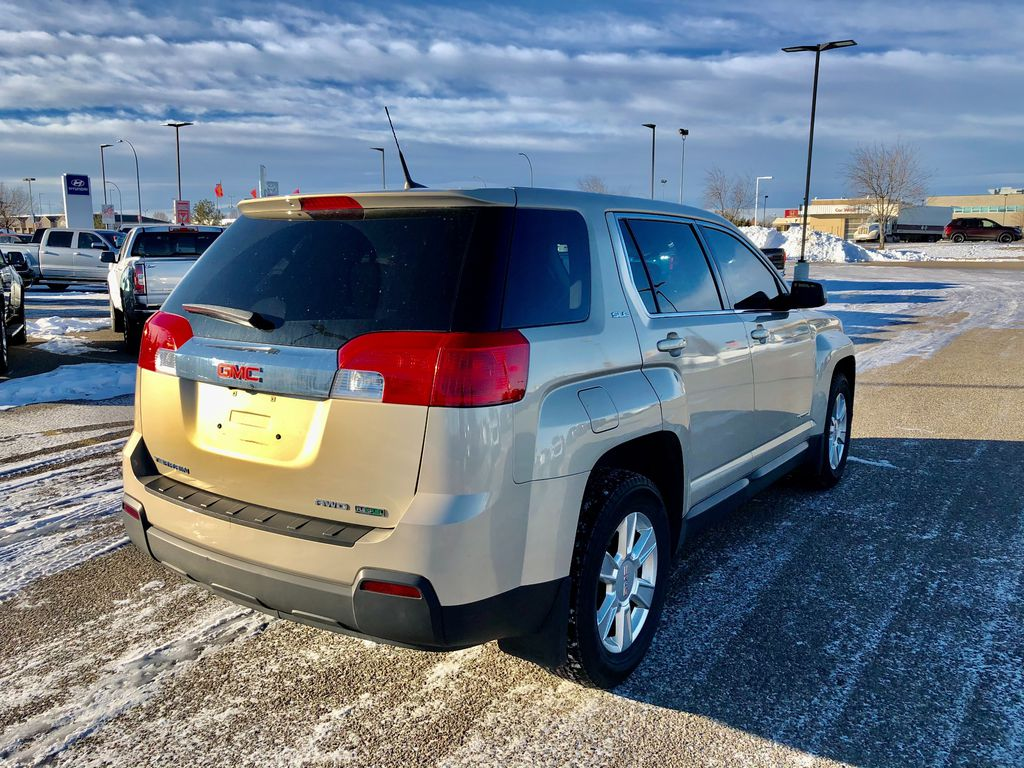 Tan 2012 GMC Terrain Front Vehicle Photo in Lethbridge AB