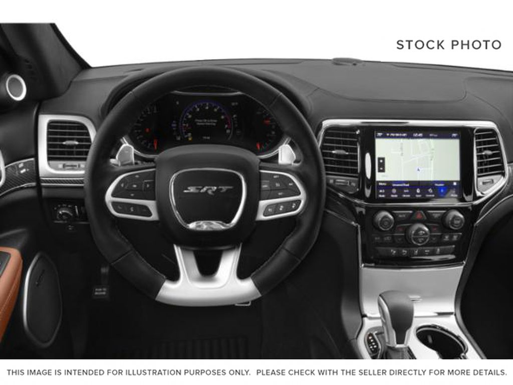 2019 Jeep Grand Cherokee Steering Wheel and Dash Photo in Fort Macleod AB