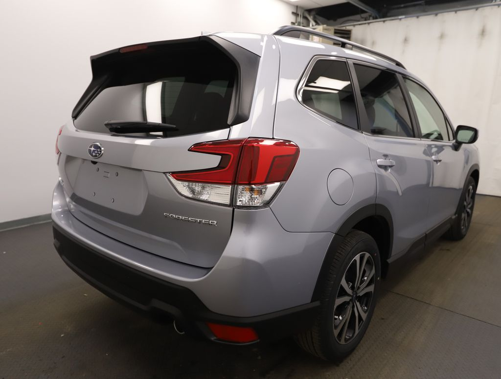 Silver 2021 Subaru Forester Rear of Vehicle Photo in Lethbridge AB