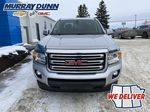 Silver[Quicksilver Metallic] 2015 GMC Canyon SLE Front Vehicle Photo in Nipawin SK