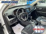 White[Bright White] 2016 Jeep Cherokee Left Front Interior Photo in Nipawin SK