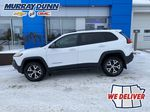 White[Bright White] 2016 Jeep Cherokee Left Side Photo in Nipawin SK