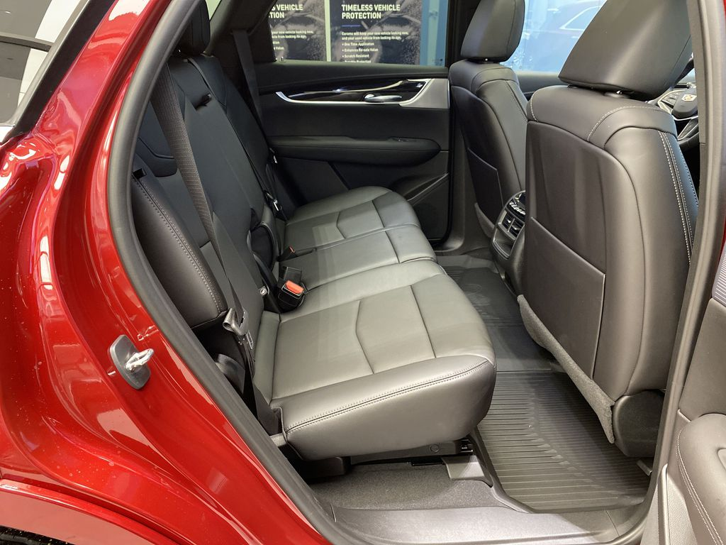 Red[Infrared Tintcoat] 2021 Cadillac XT5 Right Side Rear Seat  Photo in Edmonton AB
