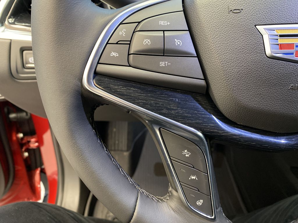 Red[Infrared Tintcoat] 2021 Cadillac XT5 Central Dash Options Photo in Edmonton AB