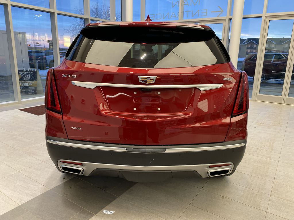 Red[Infrared Tintcoat] 2021 Cadillac XT5 Rear of Vehicle Photo in Edmonton AB
