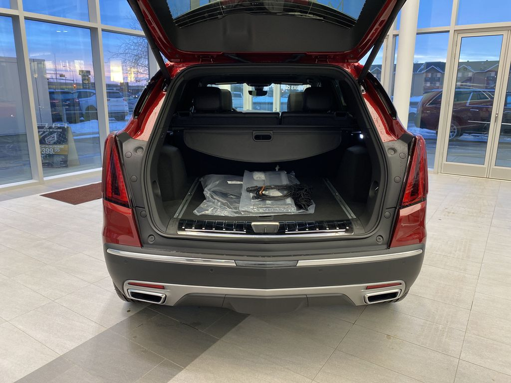 Red[Infrared Tintcoat] 2021 Cadillac XT5 Trunk / Cargo Area Photo in Edmonton AB