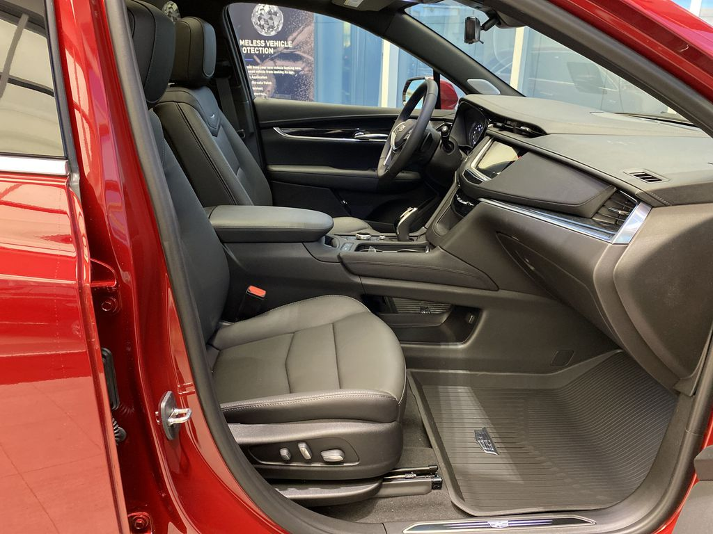 Red[Infrared Tintcoat] 2021 Cadillac XT5 Right Side Front Seat  Photo in Edmonton AB