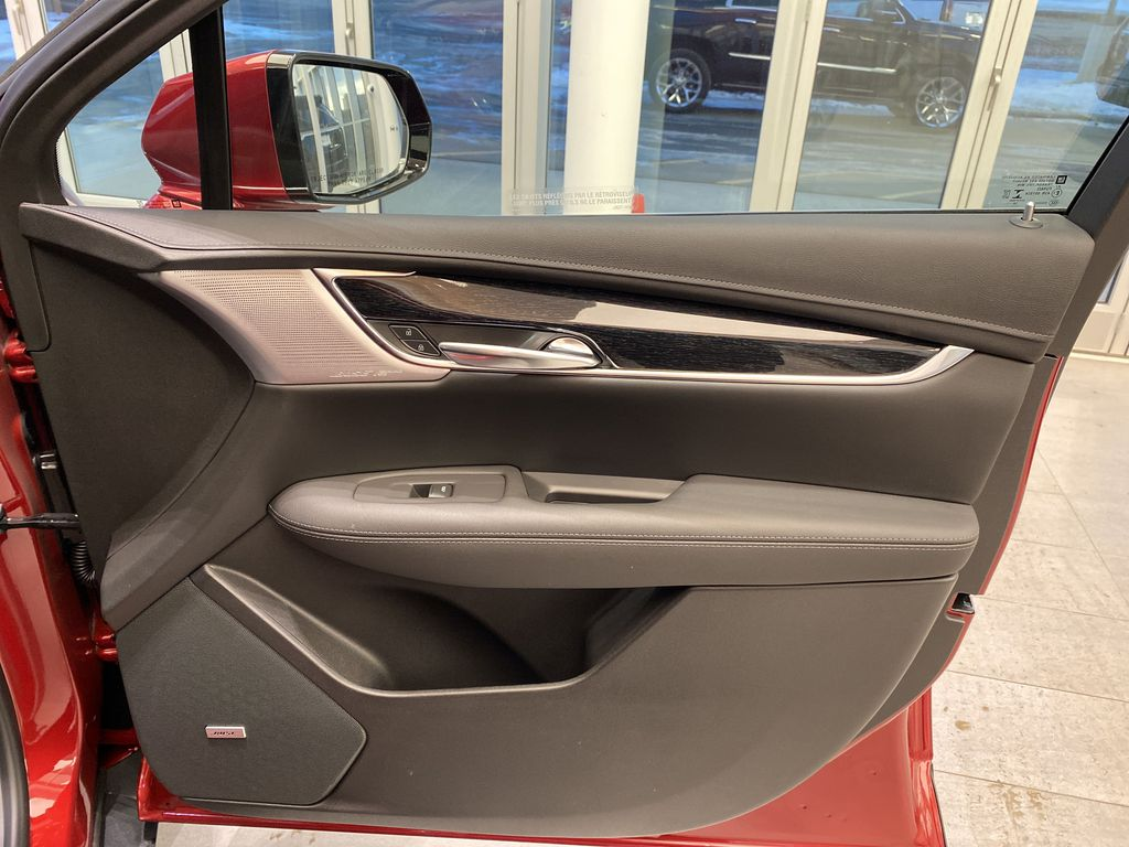 Red[Infrared Tintcoat] 2021 Cadillac XT5 Right Front Interior Door Panel Photo in Edmonton AB