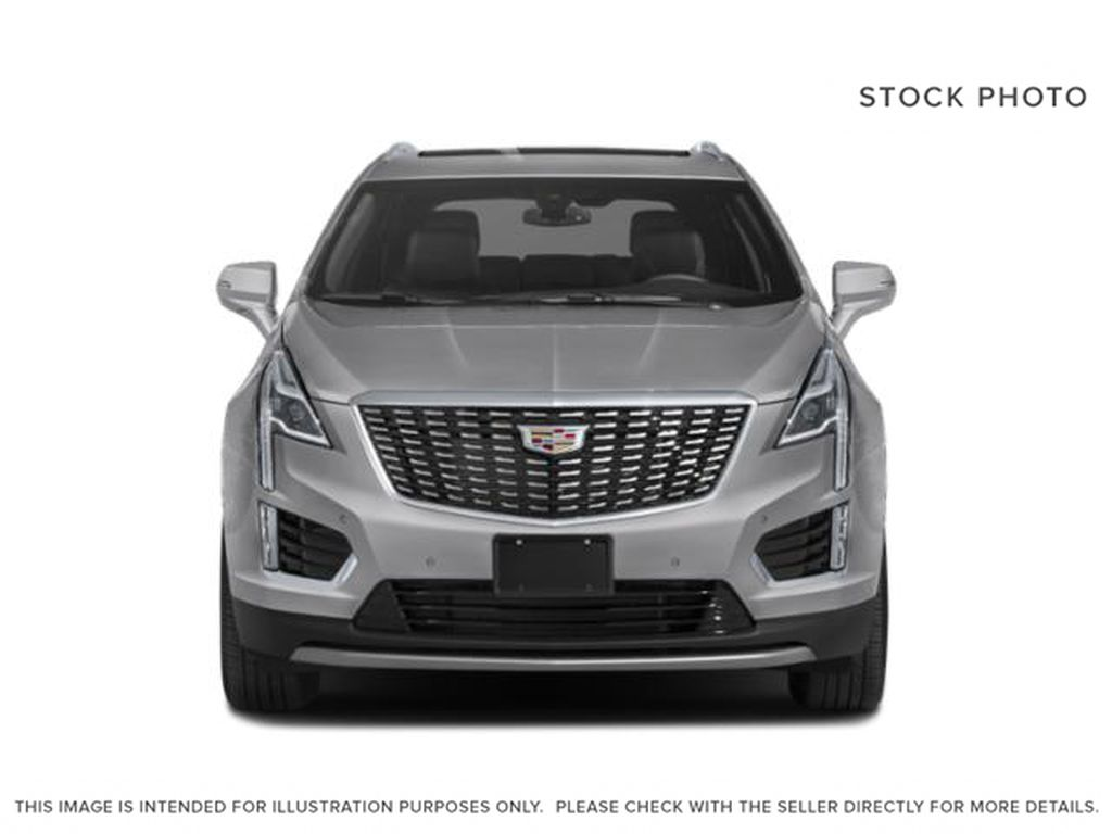 Black[Stellar Black Metallic] 2021 Cadillac XT5 Front Vehicle Photo in Edmonton AB