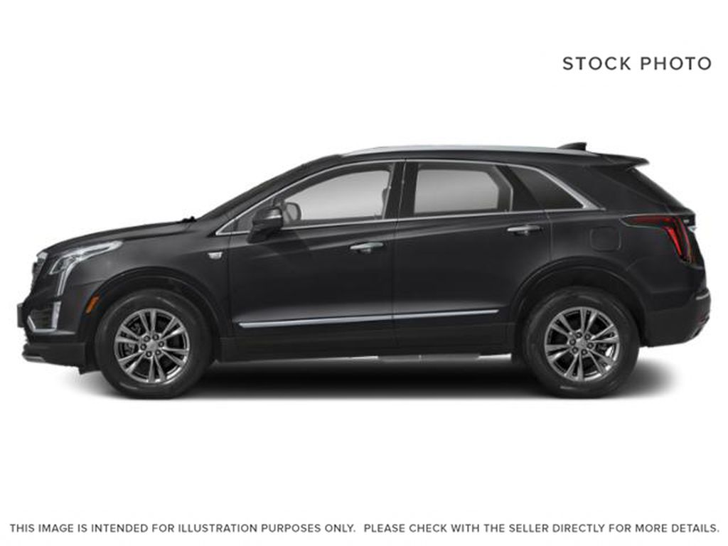 Black[Stellar Black Metallic] 2021 Cadillac XT5 Left Side Photo in Edmonton AB